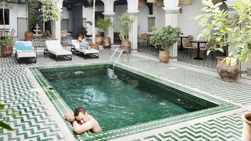 Rodamon Riad Marrakech swimming pool in open air area