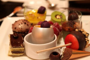 Indulging desserts at Wicked Spoon Buffet in Las Vegas