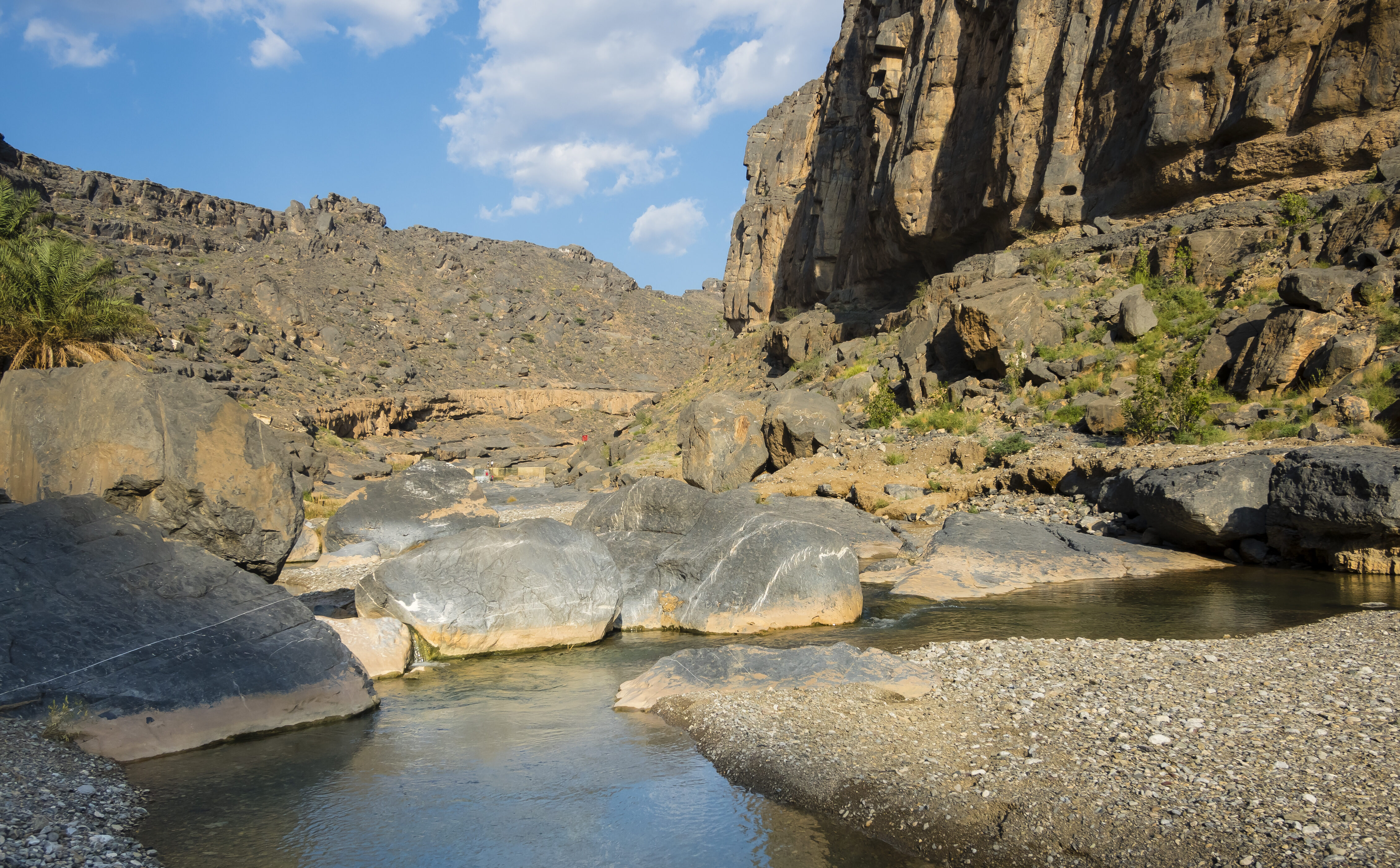 Wadi Damm, Hajar al Gharbi Berge, Al Dhahirah Region Oman