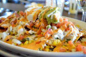 Crab tacos at Border Grill, a brunch buffet in Las Vegas