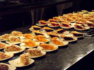 Desserts at Carnival World & Seafood Buffet in Las Vegas