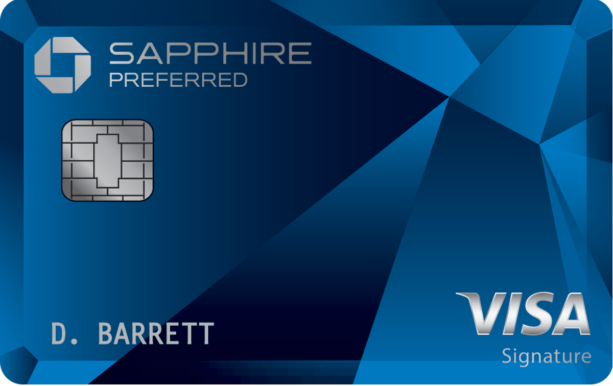 Blue Chase Sapphire Credit Card