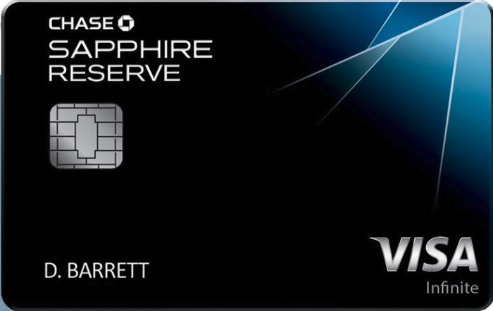 Chase sapphire reserve credit cards