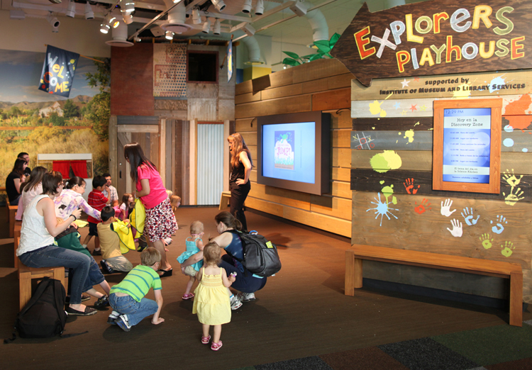 Childrens Discovery Zone in Denver Colorado