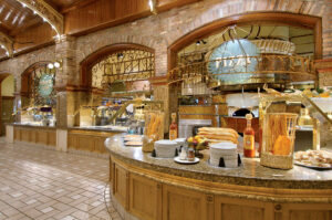 Interior of the Garden Court Buffet in Las Vegas
