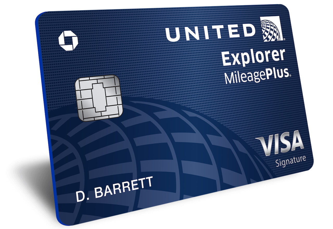 United explorer credit card mileage plus visa
