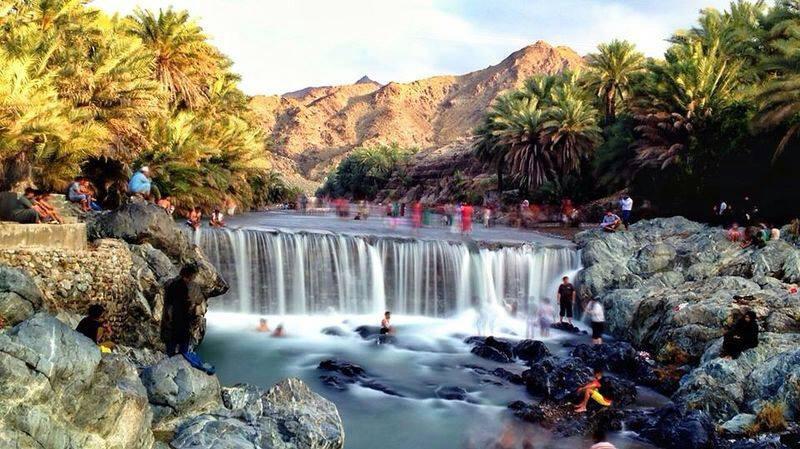 Wadi Al Hawqayn waterfall