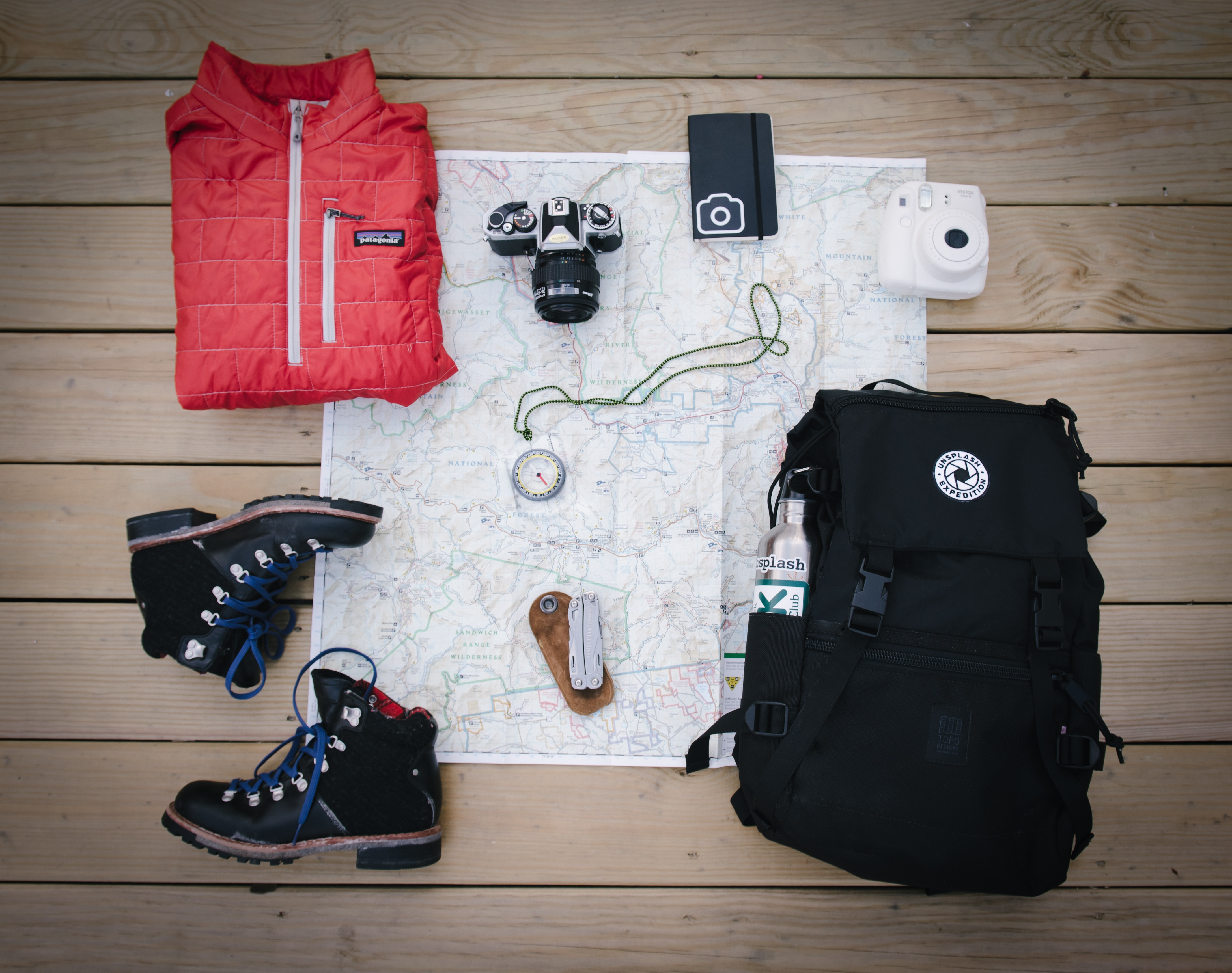 Backpacking Apparels