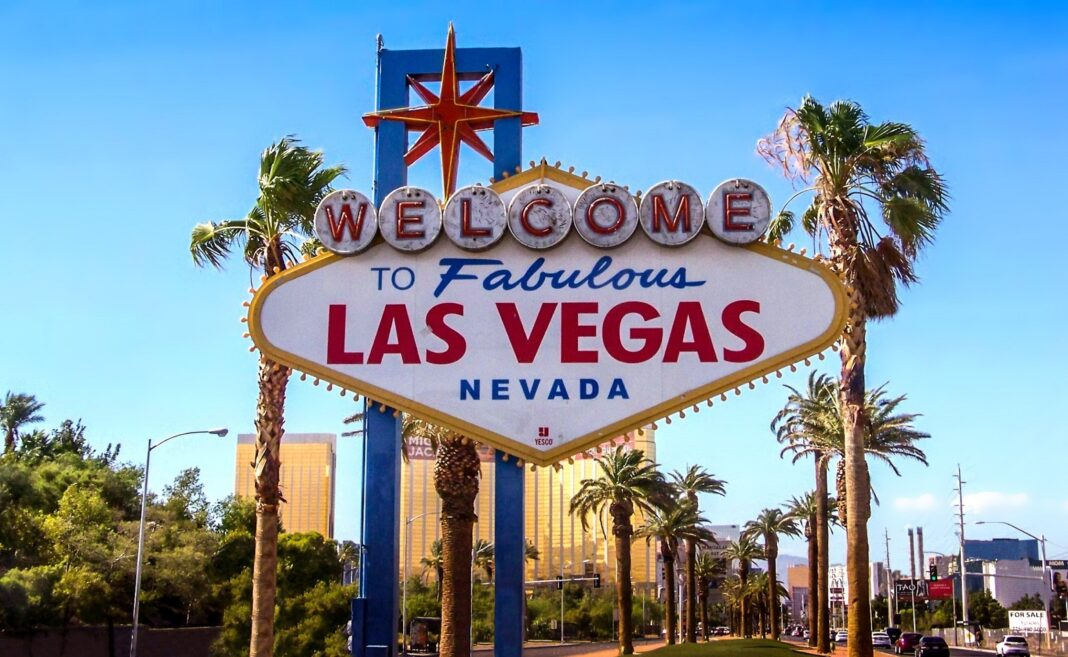 Las Vegas Nevada signboard