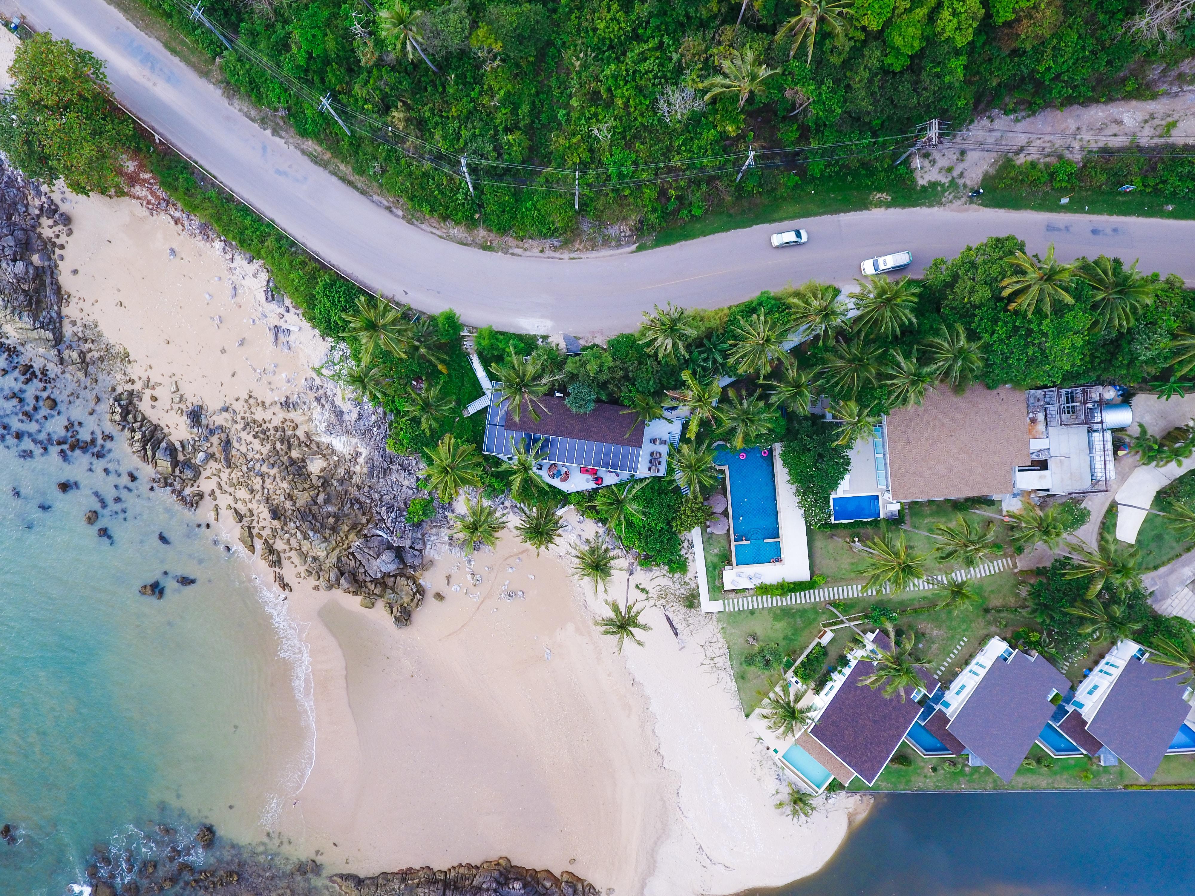 Koh lanta quiet beach in Thailand