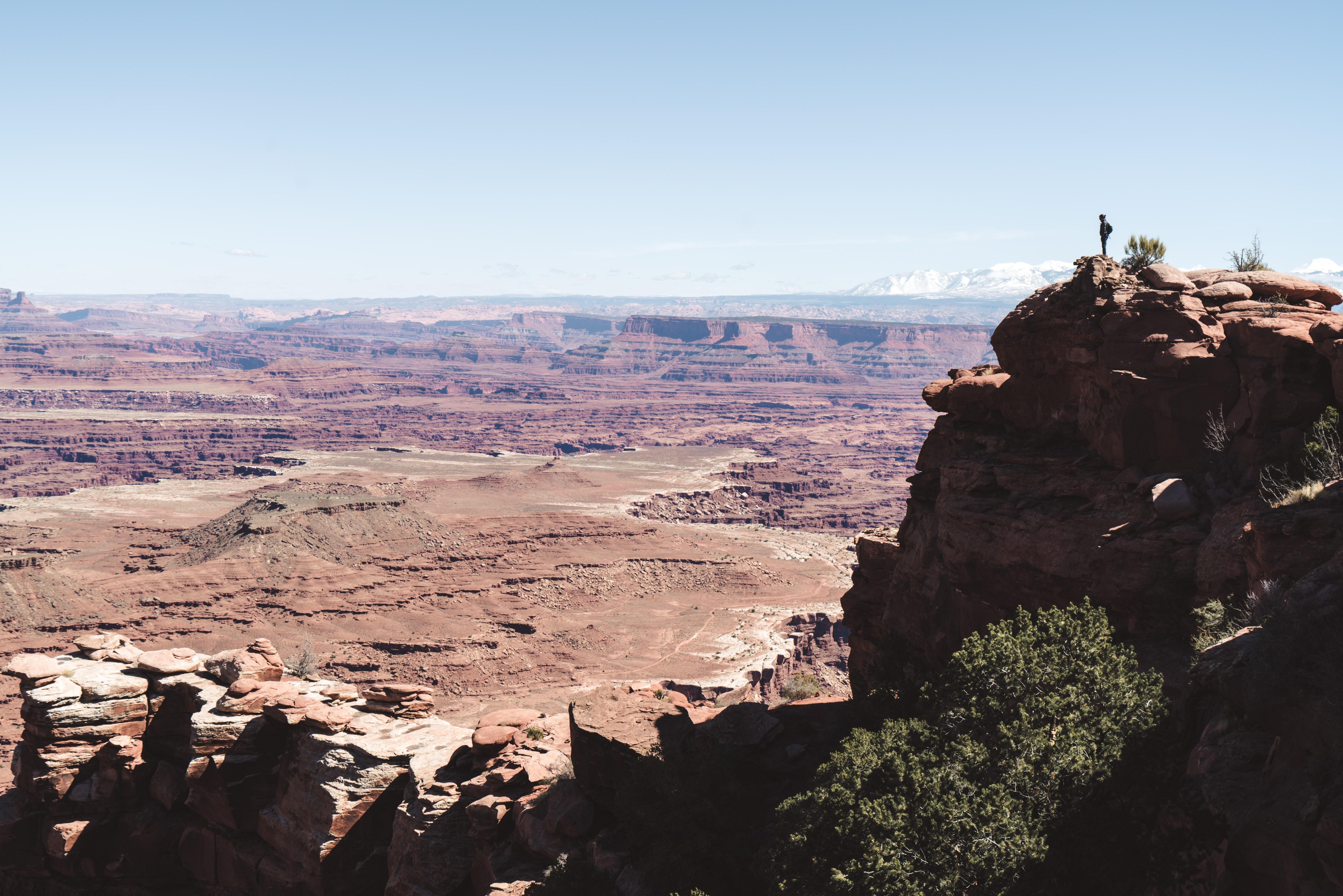 Hiking at Canyonlands National Park