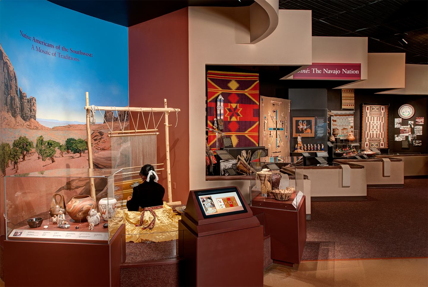 North American Indian Culture in Denver Museum