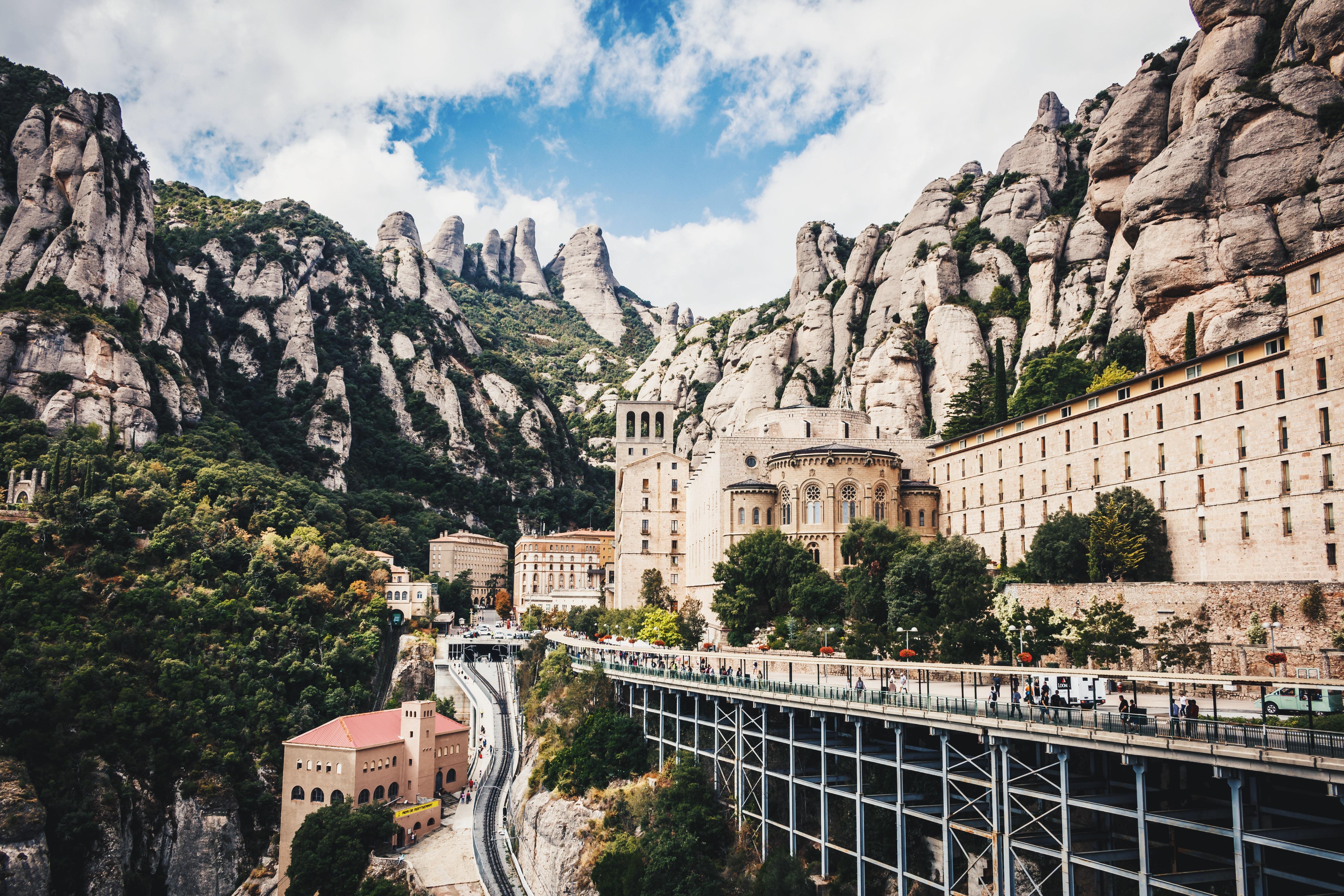 Monestir de Montserrat, Spain