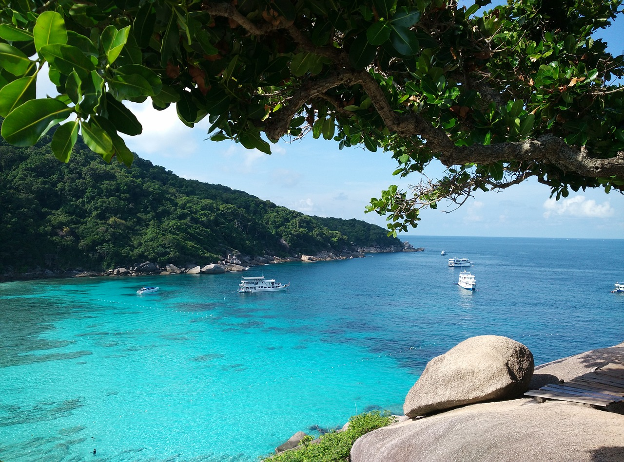 Koh Similan island in Thailand