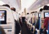 Long haul flight on an economy seat