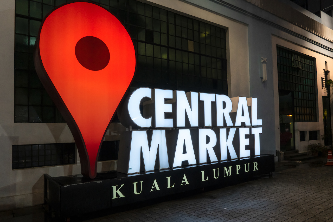 The Central Market in Kuala Lumpur.