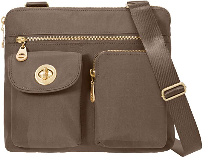Baggallini crossbody bag in brown colour