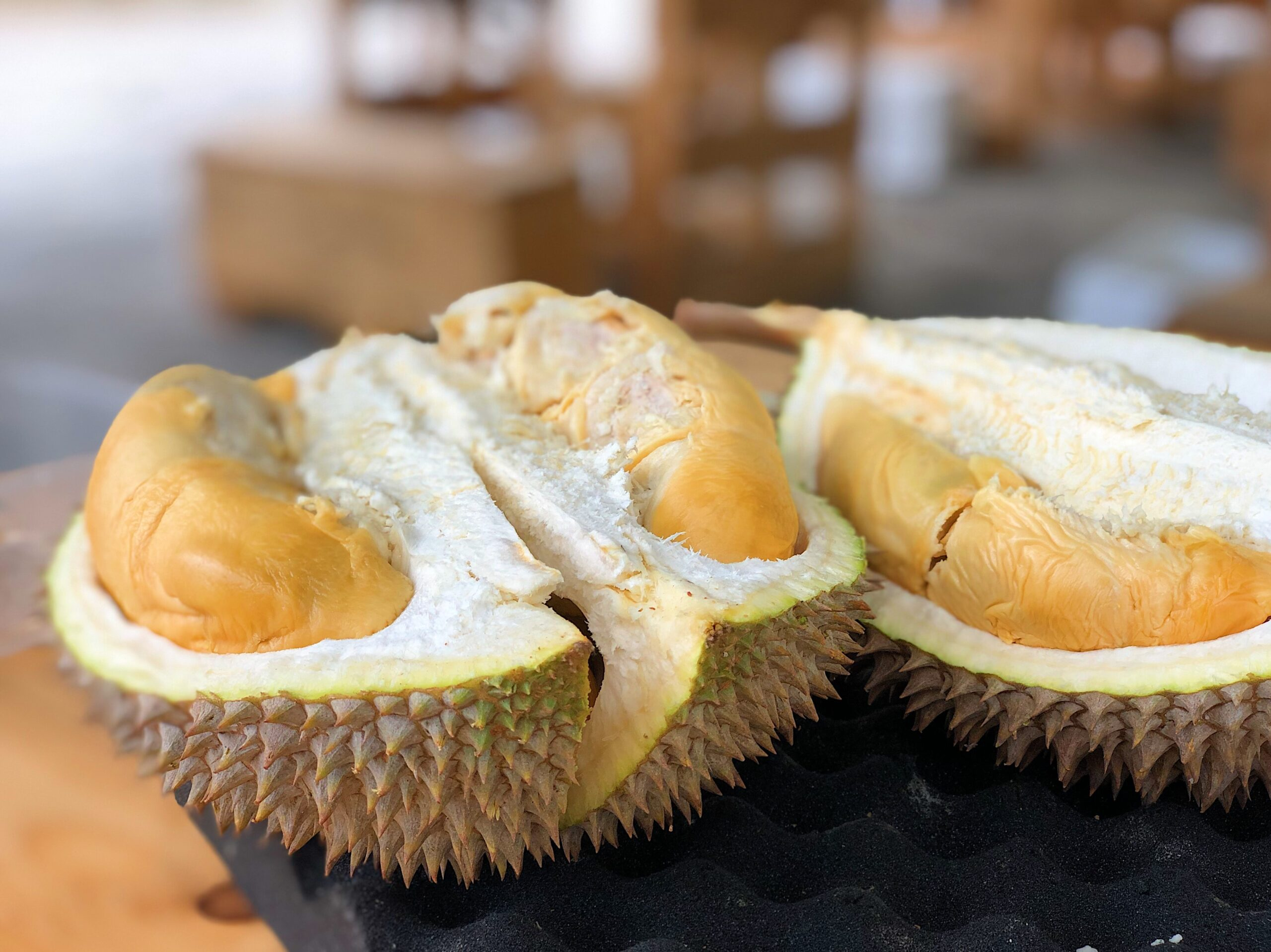 King of Fruits aka Durian tasting in Malaysia.