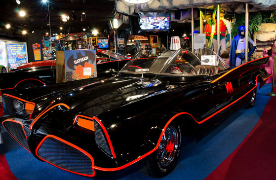 Hollywood Star Cars Museum in Gatlinburg Tennessee