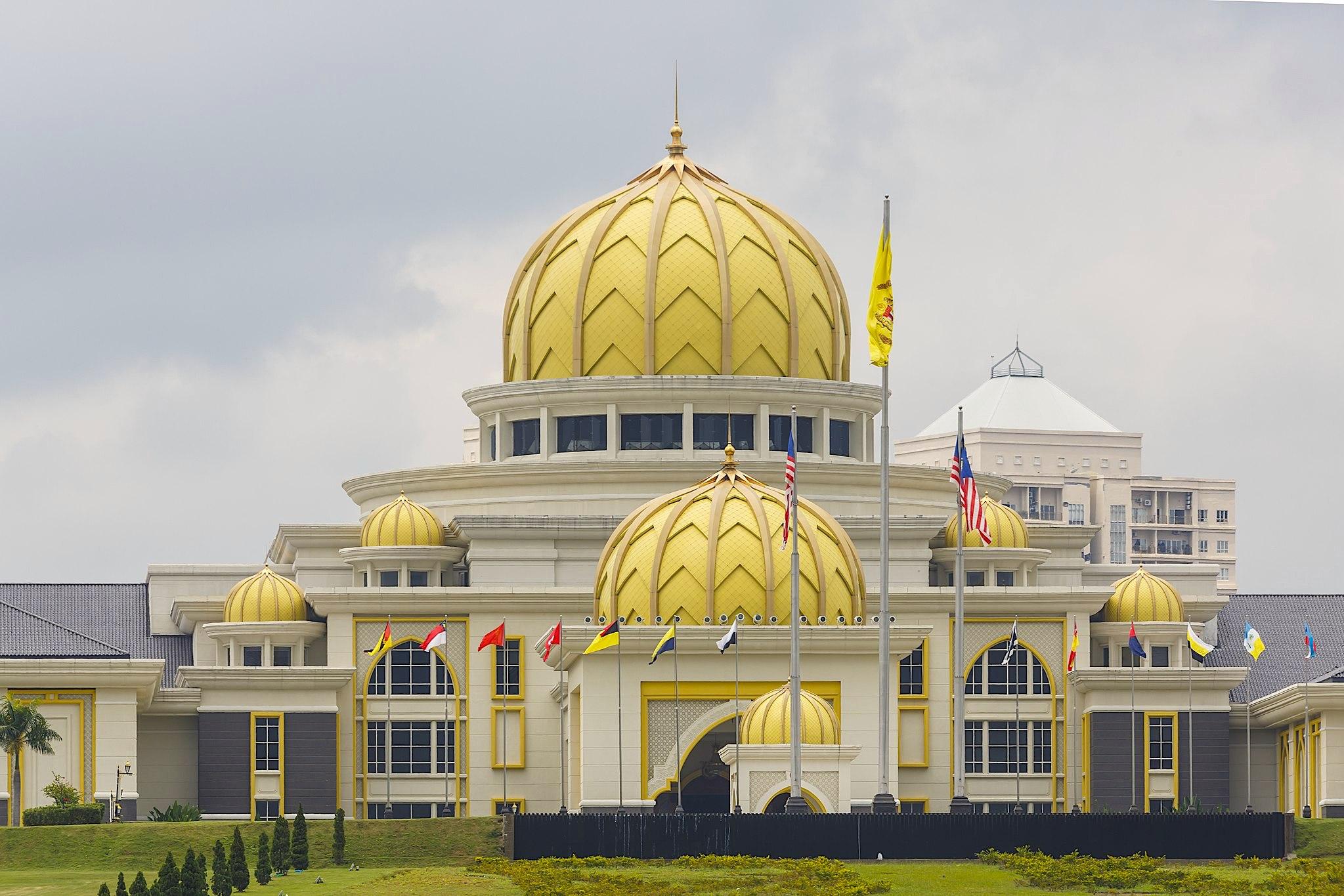Exterior of the Istana Negara in Kuala Lumpur