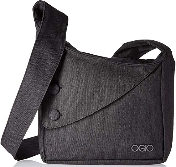 Ogio Womens Brooklyn tablet travel purse in grey colour