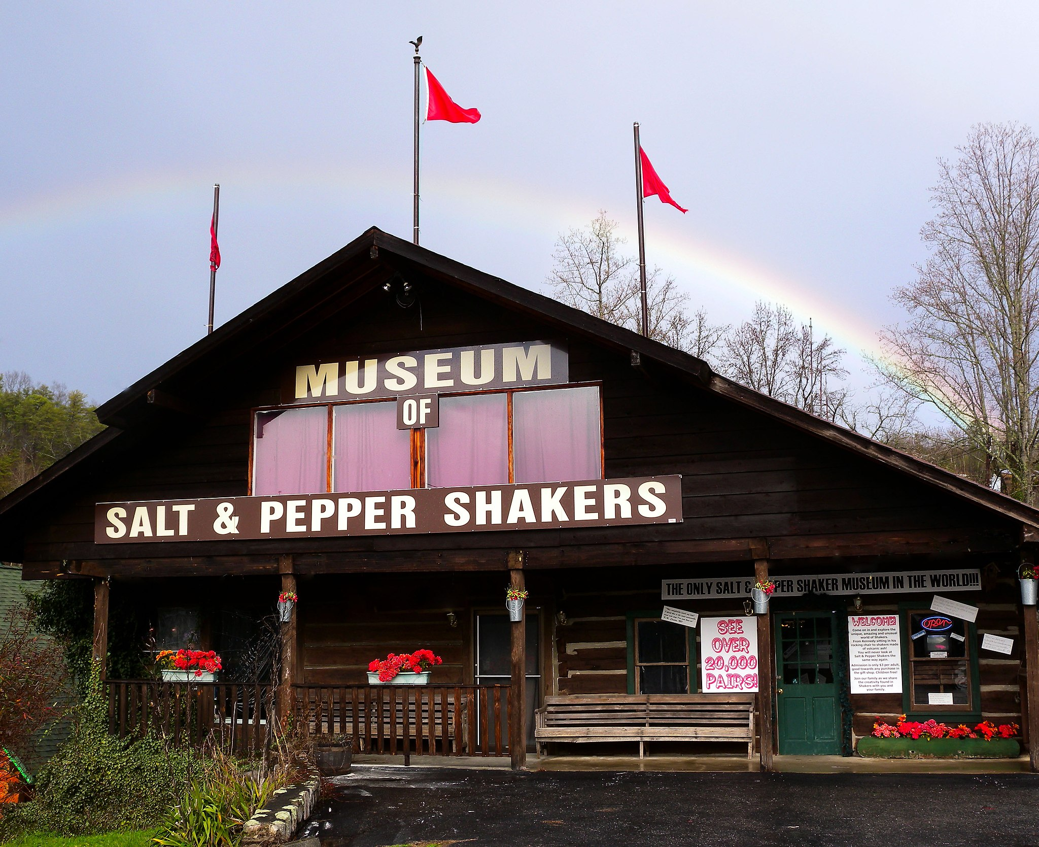 Salt and Pepper Shakers Museum in Gatlinburg Tennessee