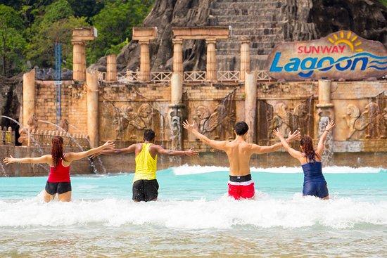 Sunway Lagoon Water Theme Park Near Kuala Lumpur city centre.