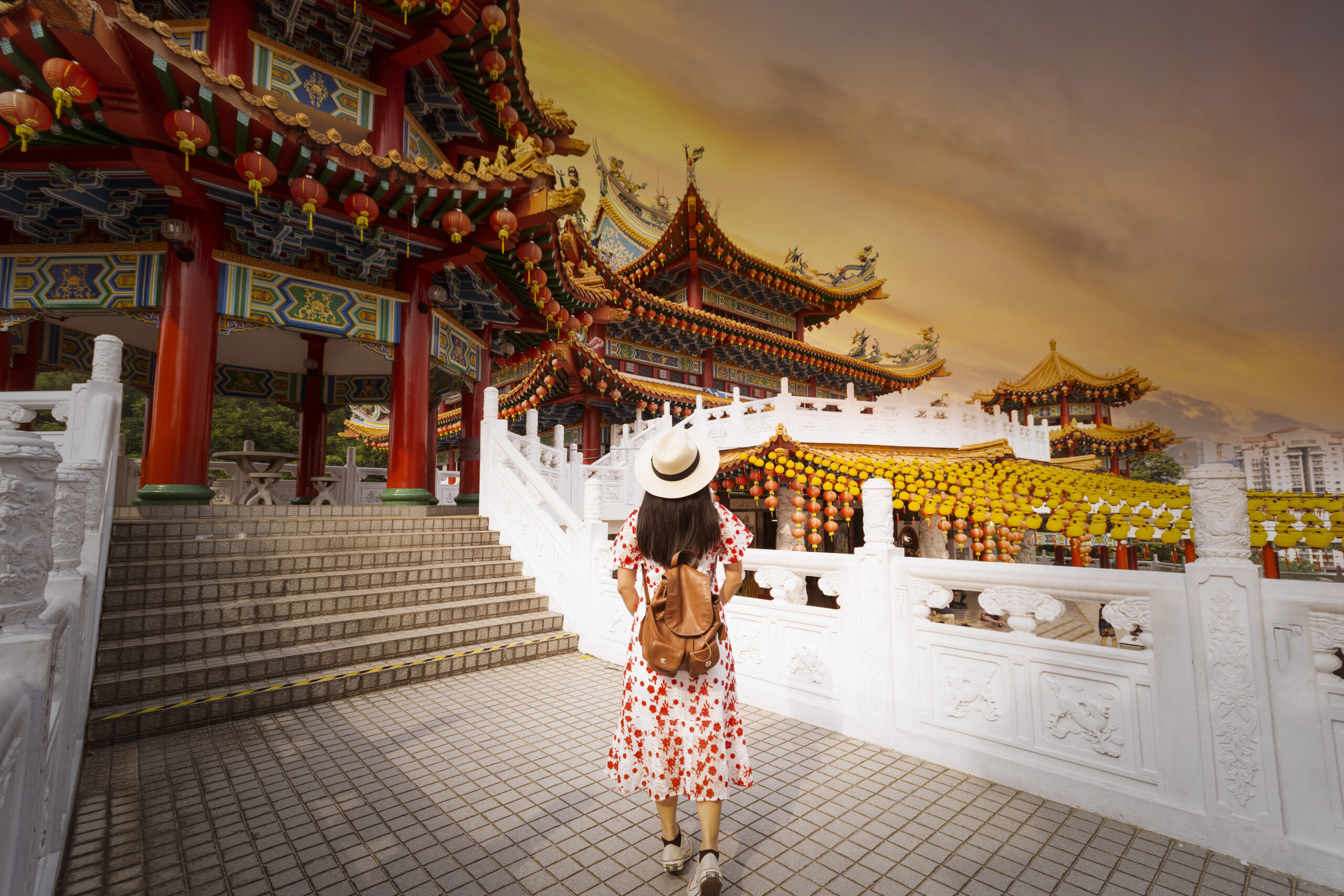 Thean Hou Temple sightseeing is one of the best thing to do in Kuala Lumpur.