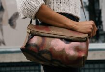 Burberry brown coloured travel purse