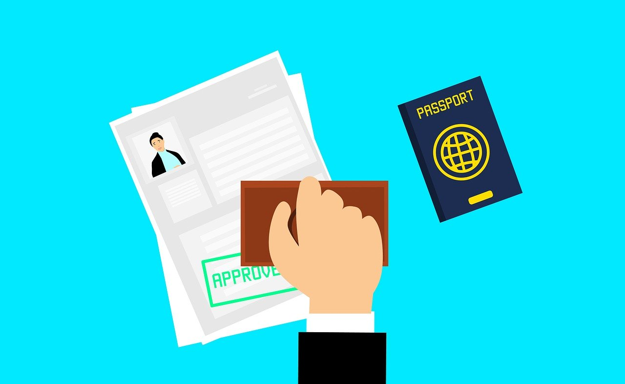 Approved visa application