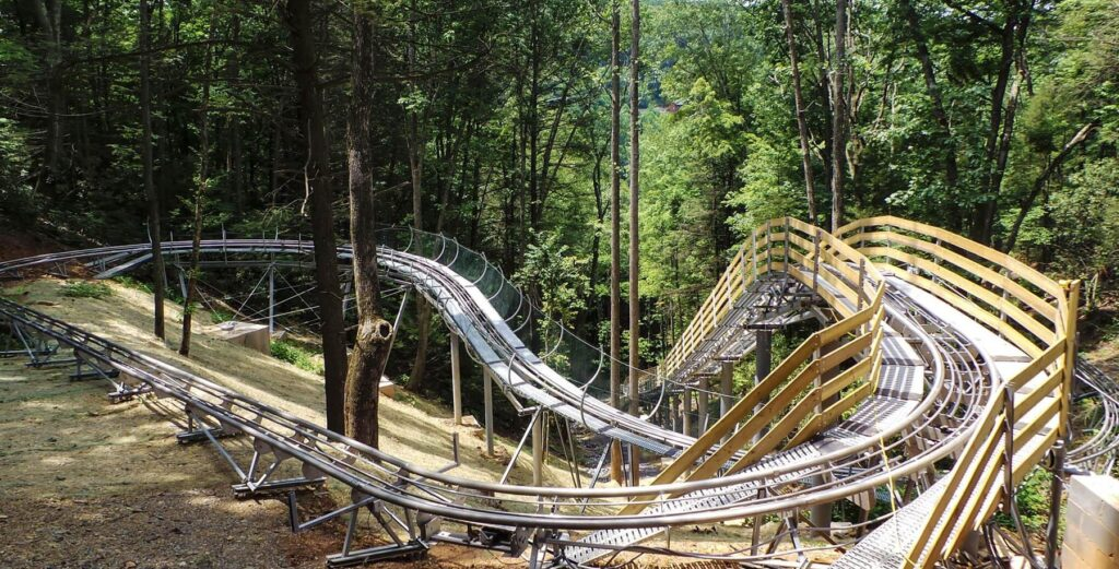 Gatlinburg Mountain Coaster roller coaster