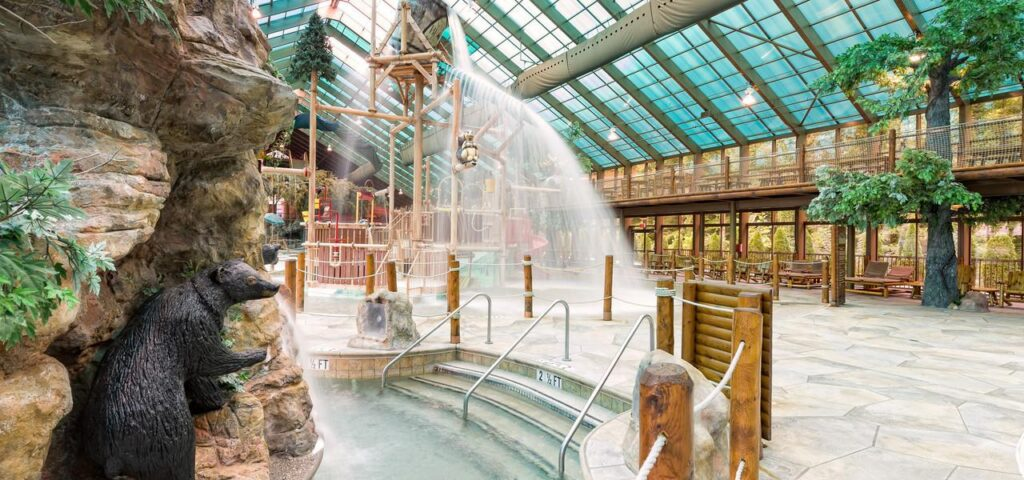 Gatlinburg's largest indoor waterpark